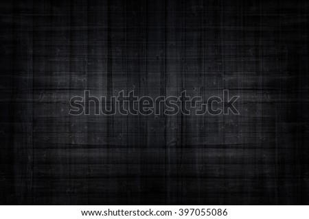 Black wood, background structure, high resolution photo  - stock photo