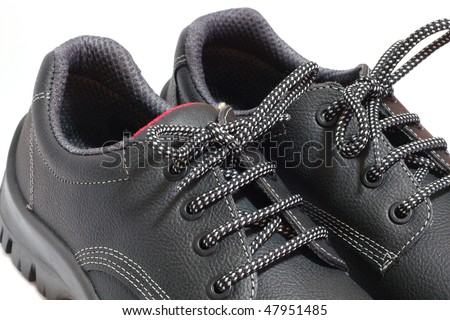black work's shoes