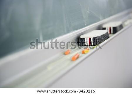 Blackboard 2 - stock photo