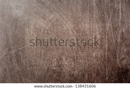 Blackboard / Chalkboard abstract background texture that has been wiped. - stock photo