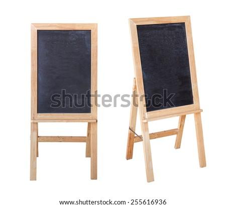 blackboard isolated - stock photo