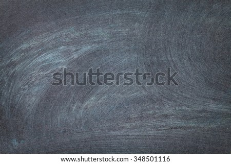 Blackboard or chalkboard background with copy space - stock photo