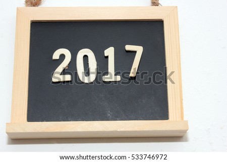 blackboard writing 2017
