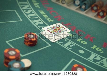 Blackjack. - stock photo