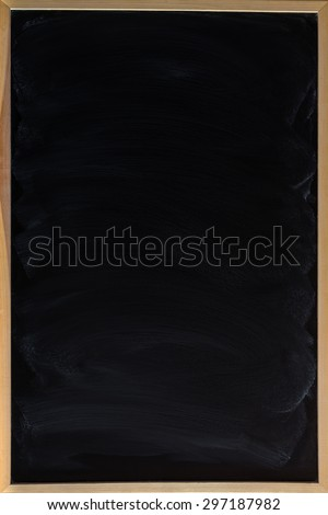 Blank Blackboard./Blackboard. - stock photo