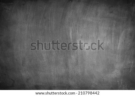 Blank Blackboard./ Blank Blackboard. - stock photo