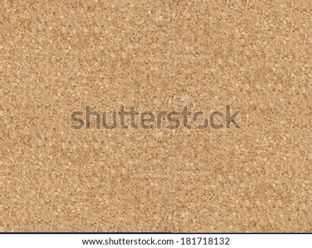 Blank Cork board with wooden frame  - stock photo