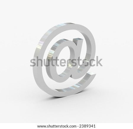 blank e-mail sign