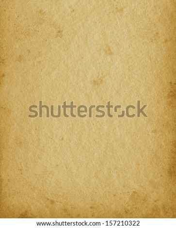Blank Empty Grunge Vintage Photo Album Textured Page Background, Old Aged Stained Texture, Vertical  Portfolio In Beige Sepia - stock photo