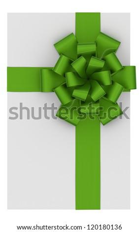 Blank gift card - stock photo