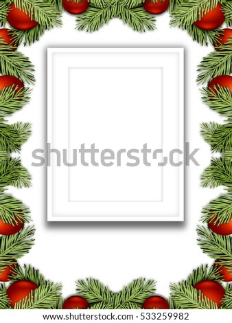 Christmas Ornament Frame Stock Images, Royalty-Free Images ...