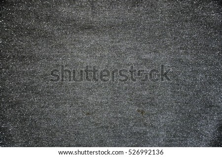 Blank grey fabric with glitter background