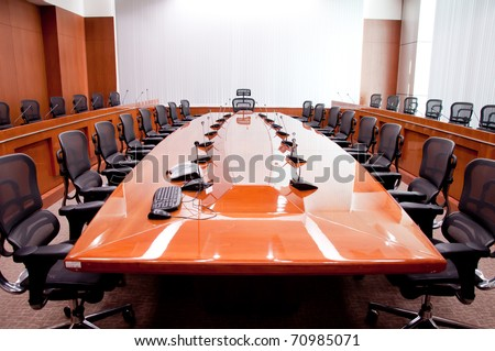 Blank Meeting Room
