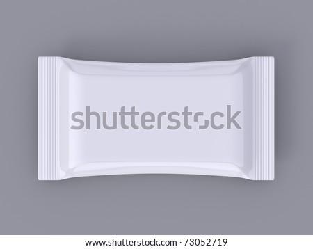 Blank pack - stock photo