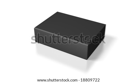 blank package - stock photo