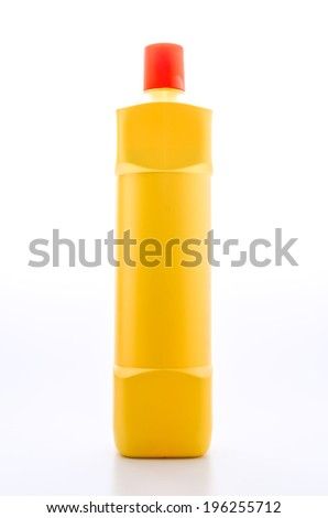 Blank packaging bottle isolated on white
