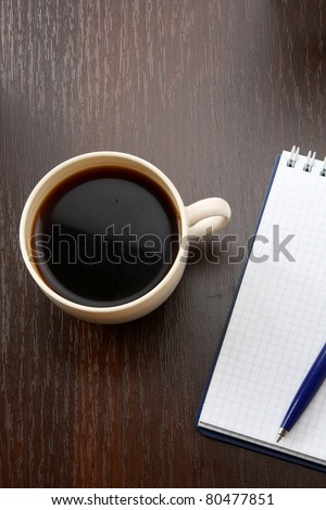Blank Pad of Paper ready - stock photo