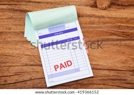 Invoice Price Mazda Cx 5 Pdf Receipt Book Stock Images Royaltyfree Images  Vectors  Online Invoicing Tool Excel with Freelance Invoice Template Blank Page Of Invoice Book On Wooden Background What Does Invoice Mean In Accounting Word