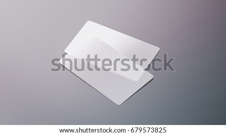 Blank plastic transparent business cards mock stock illustration blank plastic transparent business cards mock up 3d rendering clear pvc namecard mockup with fbccfo Choice Image