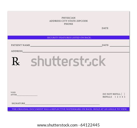 Pin Blank Prescription Pads Doctors on Pinterest