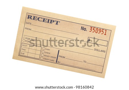Blank Receipt Images RoyaltyFree Images Vectors – Receipt Blank