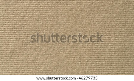 Blank sheet of brown paper material texture - (16:9 ratio)