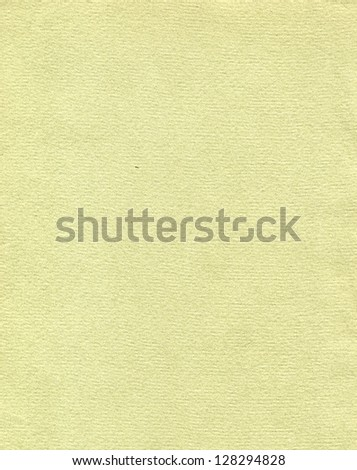 Blank sheet of yellow paper useful as a background