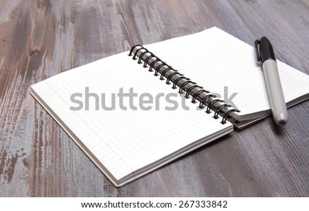 blank sheets - stock photo