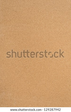 Blank surface of bulletin board with cork texture - stock photo