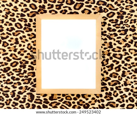 Blank vertical frame - stock photo