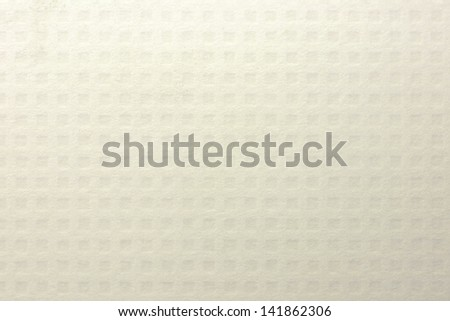 Blank white checked paper texture