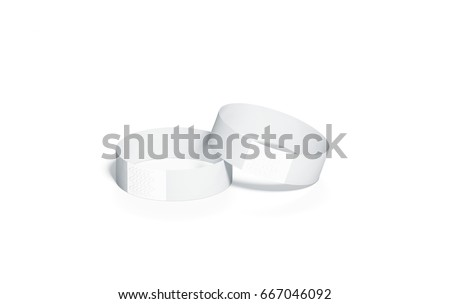 Blank Black Rubber Wristband Mockup On Stock Photo 422951242 ...