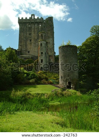 Blarney Castle, Ireland - stock photo