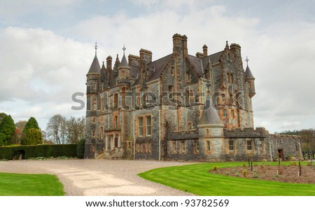 Blarney House Co. Cork - Ireland - stock photo