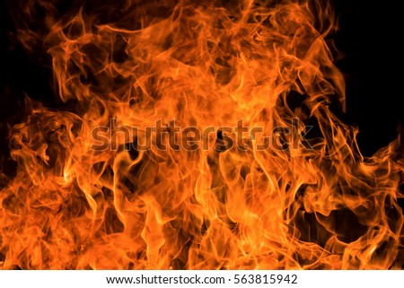 Blaze fire flame background and textured