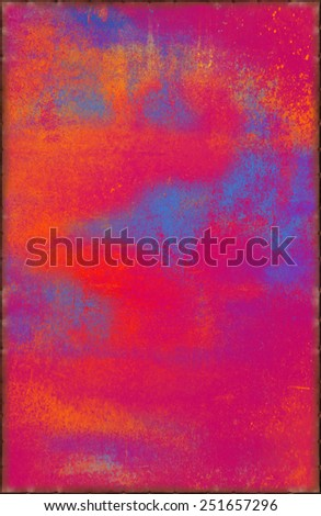 Blazing Texture with Rusty Seams Along Edges (Part of Vibrant Metal Textures set, which includes 12 textures that fit together perfectly to form a huge image. No noise, even lighting) - stock photo