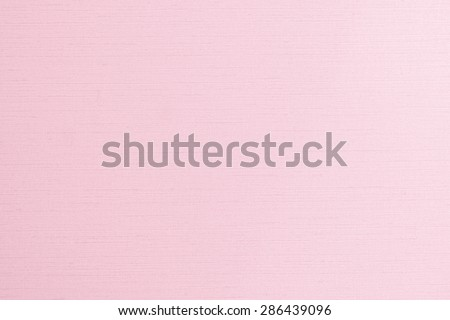 Blended cotton silk fabric wallpaper texture pattern background in light pale sweet pink color tone         - stock photo