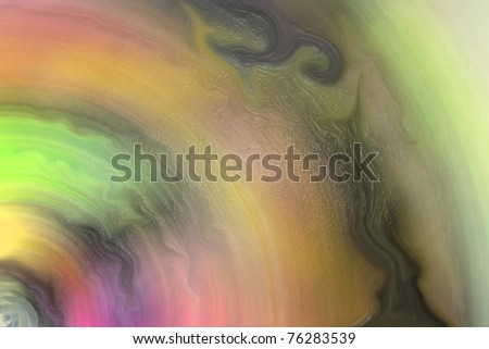 Blending colorful watercolor painting (8) - stock photo