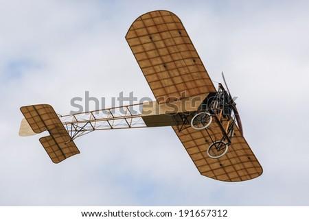 Bleriot monoplane - stock photo