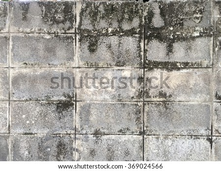 blick block wall - stock photo