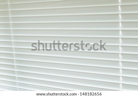 Blinds interior at home