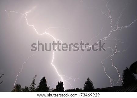 Blitze - stock photo