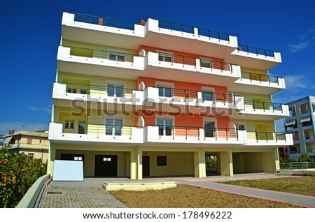block of flats - houses - apartments