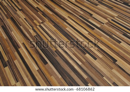 Block parquet - stock photo