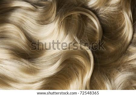 Blond Hair - stock photo