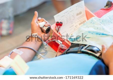 Blood Donate - stock photo