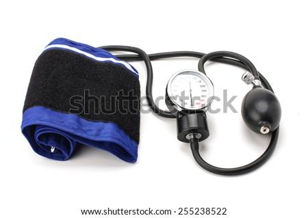 Blood pressure equipment sphygmomanometer - stock photo