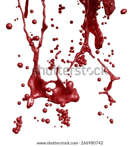 Blood Splashing