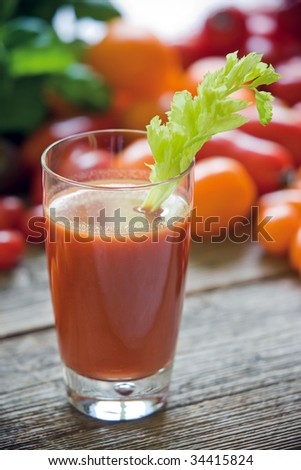Bloody Mary - stock photo