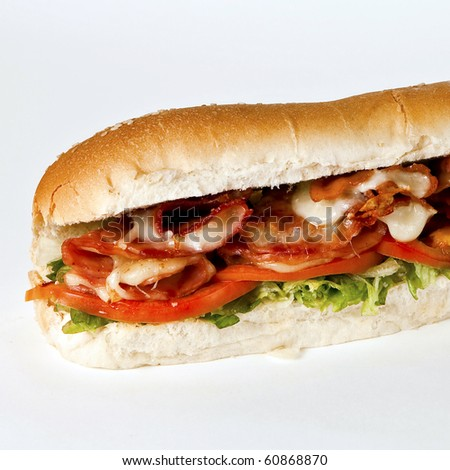 blt sandwich - stock photo